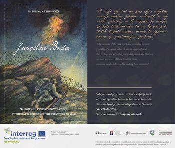 Odprtje razstave: Jaroslav Barda Na bojiščih prve svetovne vojne