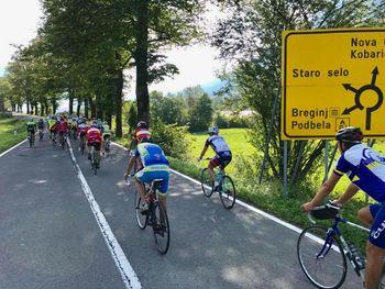 Tradicionalni kolesarski maraton čez odprte meje Povoletto - Breginj - Povoletto
