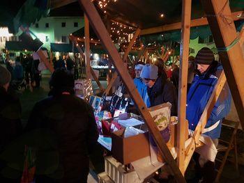 Miklavževa tržnica in prižig novoletnih lučk v Kobaridu