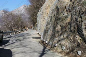 Popolna zapora občinske ceste - plaz Drežnica