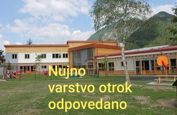 Vrtci in šole zaprti za vse otroke