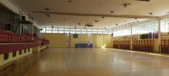 Športna dvorana Kobarid bo od ponedeljka dalje odprta le za klubske dejavnosti