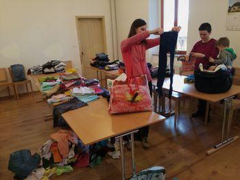 Dobrodelna akcija za pomoč družinam v Ukrajini