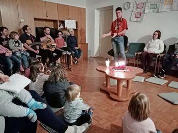 Družinski večer v duhu Luči miru iz Betlehema