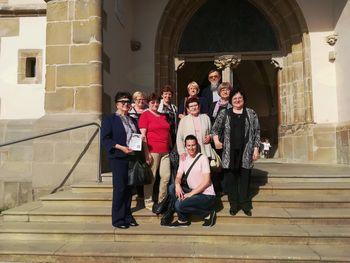 Pevke iz cerkve Svete družine v Kidričevem so prepevale na Ptujski Gori