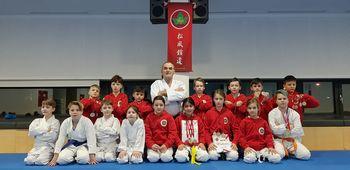 Uspešni karateisti SHOFUKAN karate kluba Kidričevo in WKSA Hajdina