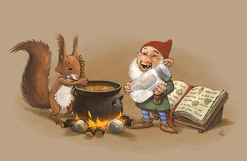 Juha, ki jo veverička skuha