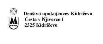 Razpis za opravljanje nekaterih poglavitnih del in nalog v društvu upokojencev Kidričevo