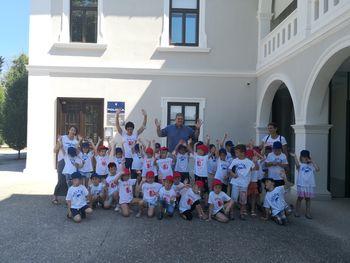 Mini maturanti na obisku pri županu