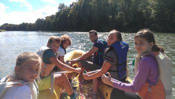 Rafting na Dravi