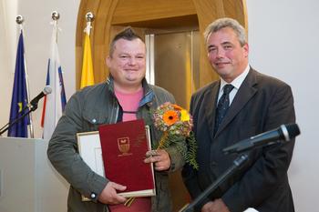 GOSTILNA ŠTIRNA, prejemnica priznanja Občine Miren-Kostanjevica