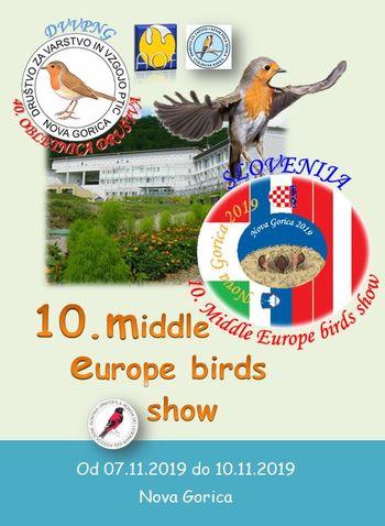 razstava ptic - 10. MIDDLE EUROPE BIRDS SHOW 2019