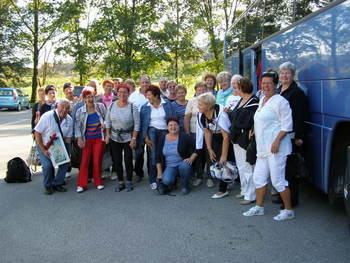 Srečanje prostovoljk projekta Starejši za starejše v Dolenjskih toplicah