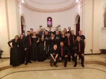 Gostovanje Okteta Jurija Dalmatina iz Boštanja v Argentini