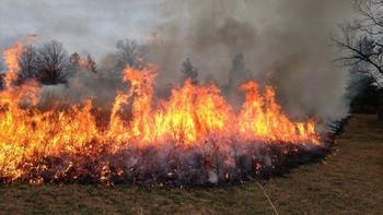 URSZR razglasila veliko požarno ogroženost naravnega okolja