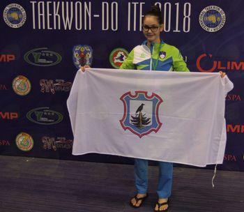 Ema Mešič tretja na svetovnem prvenstvu v Minsku