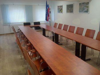 Uporaba nove sejne sobe Občine Vransko