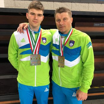 Simi Zajec – evropski prvak