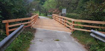 Obnovljen most na javni poti Ločica-Juteršek