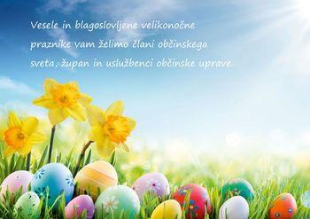 Vesele in blagoslovljene velikonočne praznike!