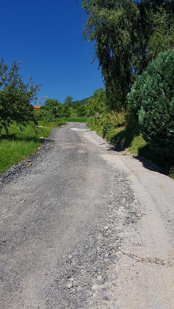 V teku sanacija javne poti Brode–Tešova