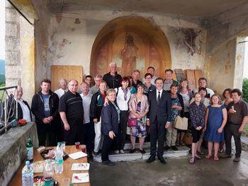 Shod za domovino pri Sv. Roku nad Sevnico