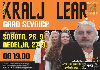 Gledališka predstava Kralj Lear