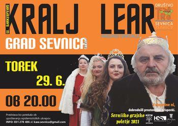 "Gledališka predstava ""Kralj Lear"""