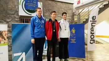 IVO CICMANOVIČ ZIMET dosegel odlično 1. MESTO na 1. turnirju državne mladinske lige