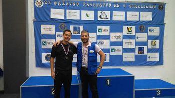 Ivo Cicmanovič Zimet k uspešni sezoni z zračnim orožjem dodal še dva uspešna nastopa z MK orožjem