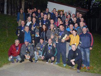 Uspešen zaključek mednarodne lige Alpe-Adria v streljanju s pištolo in revolverjem velikega kalibra