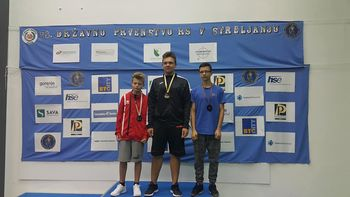 Alex Kaučevič – državni podprvak na državnem prvenstvu 50 m