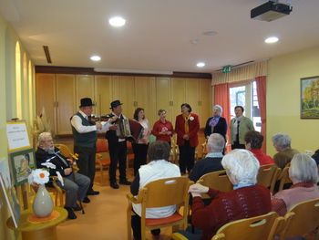 Obisk v domu upokojencev Ptuj – enota Kidričevo