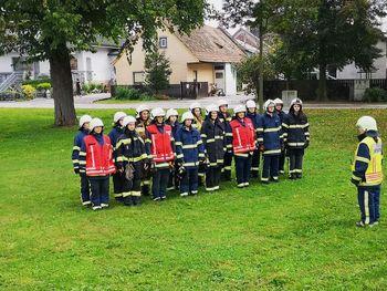 Članice GZ Kidričevo s pokalom in uspešno izvedeno prvo gasilsko operativno vajo članic
