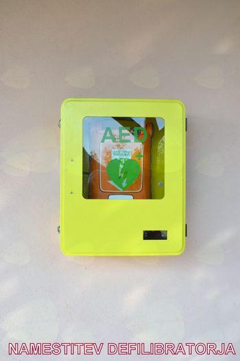 KO RK Cirkovce je namestila 5. AED (defibrilator)