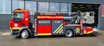 GZ Kidričevo z novim gasilskim vozilom