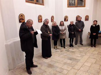 Razstava ikon v Galeriji kapelica sv. Nikolaja v Boštanju