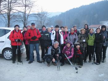 Letošnji prvi pohod torkovcev na Rahtelov vrh