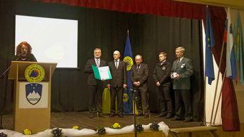 Radioklub Cirkulane prejel bronasti znak Civilne zaščite