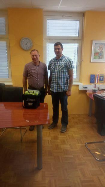 Šest novih defibrilatorjev v Občini Cirkulane