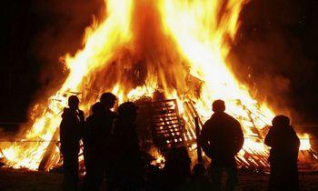 Varstvo pred požari ob kurjenju prvomajskih kresov