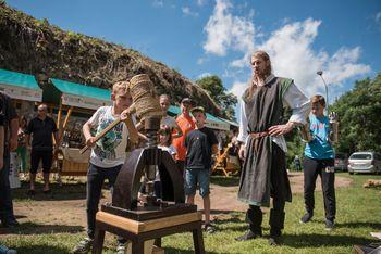 Srednjeveški Vurberk je slavil 10. obletnico