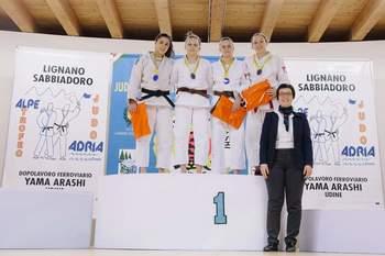 Izvrsten dosežek Tajde Senekovič v Lignanu Italija