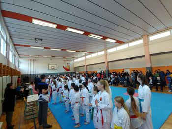 2. krog osnovnošolske in srednješolske lige v karateju
