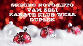 Karate klub WKSA Duplek Vam želi Srečno in Zdravo Novo Leto 2021!