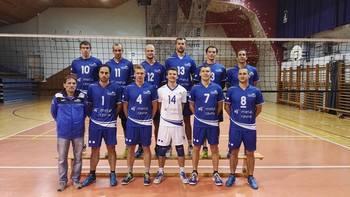 Poraz za odbojkarjev Fužinarja v 1. DOL proti ACH Volley