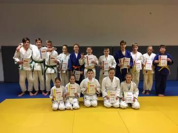 Izpiti za višje pasove v judo