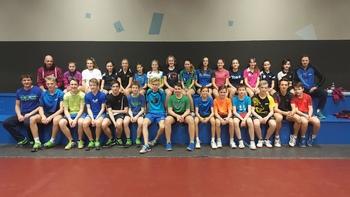 Novoletne reprezentančne priprave v namiznem tenisu