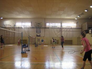 Turnir za otroke v badmintonu