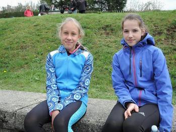 Neža in Lana tik za najboljšimi na prvenstvu Slovenije v dolgih tekih